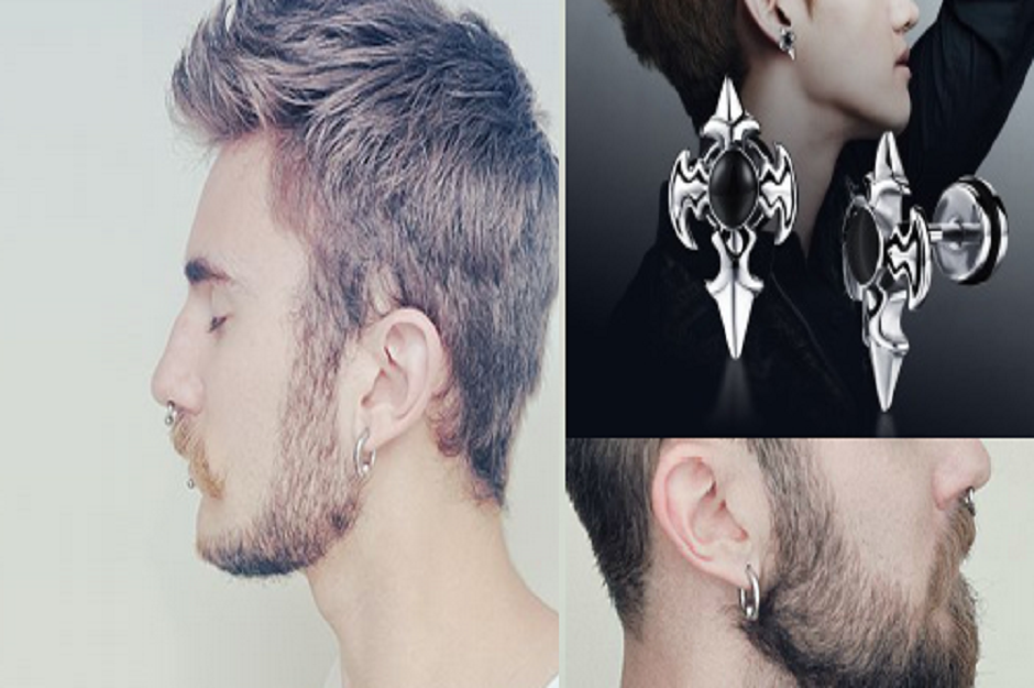 Earrings For Men_www.fashionexperts.club